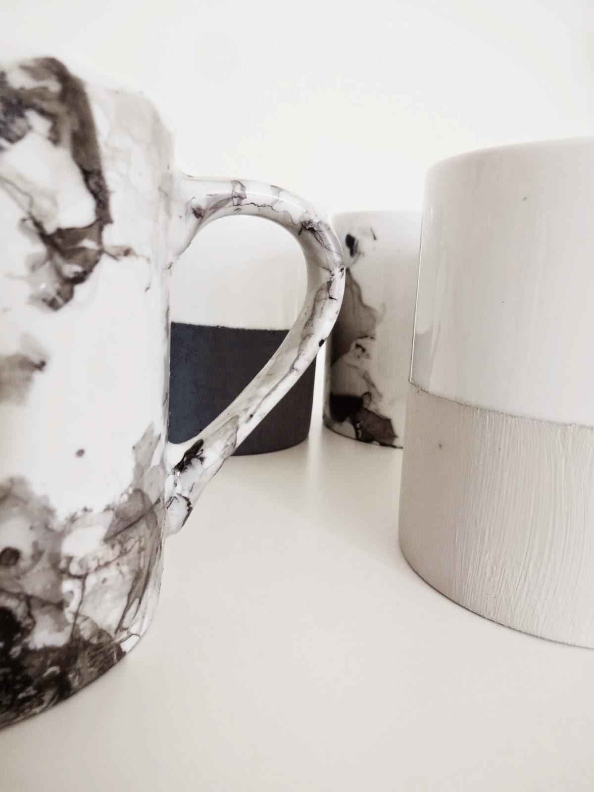Basteln Malen Kuchen Backen Tassenverschonerung Mit Kreidfarbe Und
