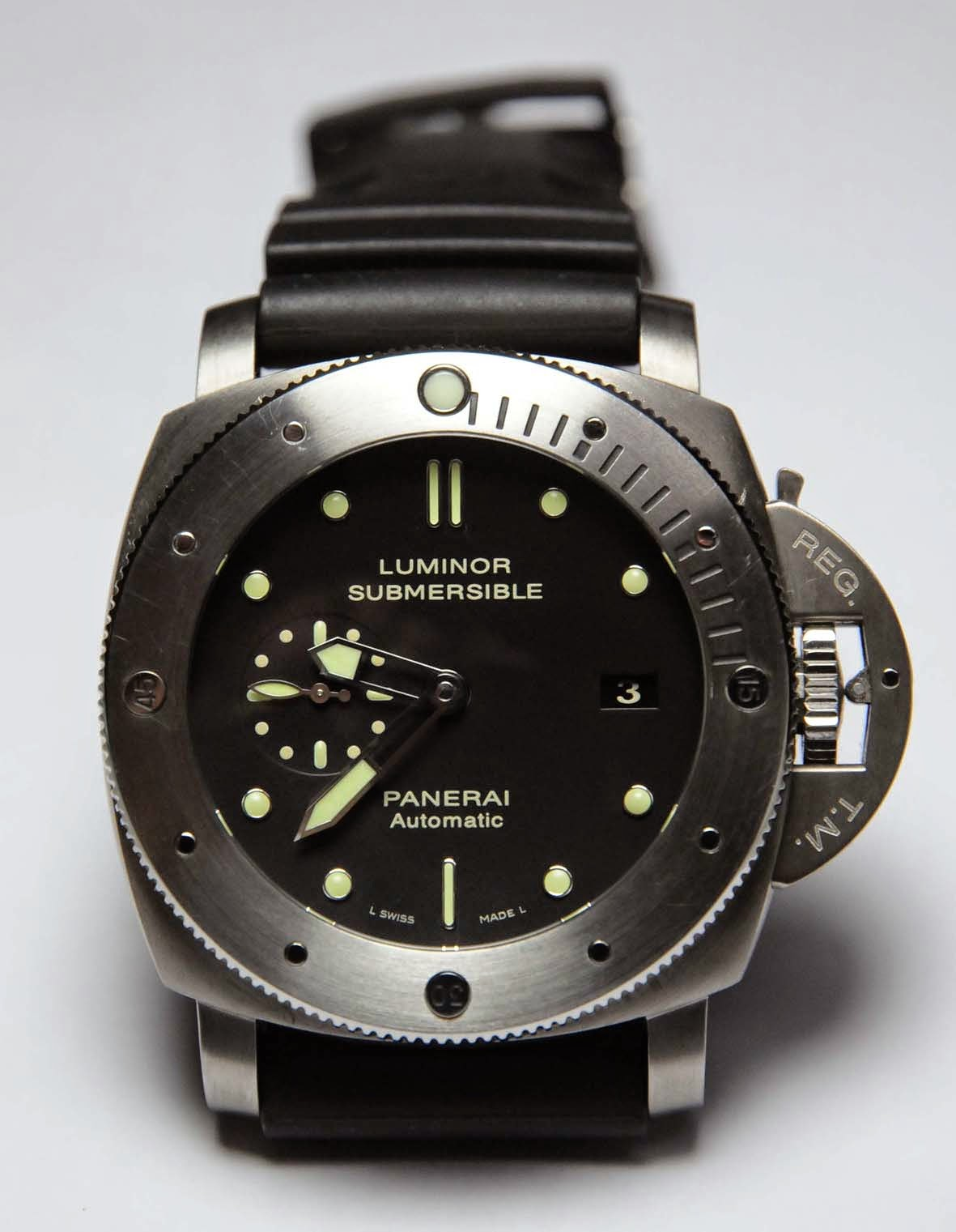 Panerai PAM305 Luminor Submersible 1950 copy watch