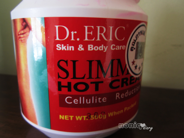 Review Dr. Eric Slimming Hot Cream (Cellulite Reduction ...