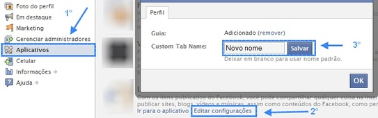 Saiba como mudar o nome do aplicativo das páginas do facebook