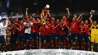 Foto ini Tak Terexpose : Spanyol Juara Euro 2012