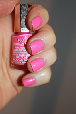 Mavala 168 South Beach Pink test avis essai