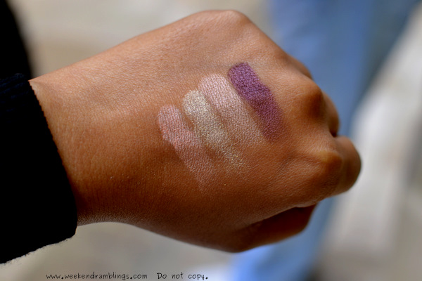 Chanel Les 4 Ombres Quadra Eyeshadows Eclosion Spring Summer 2012 Makeup Harmonie De Printemps Collection Swatches