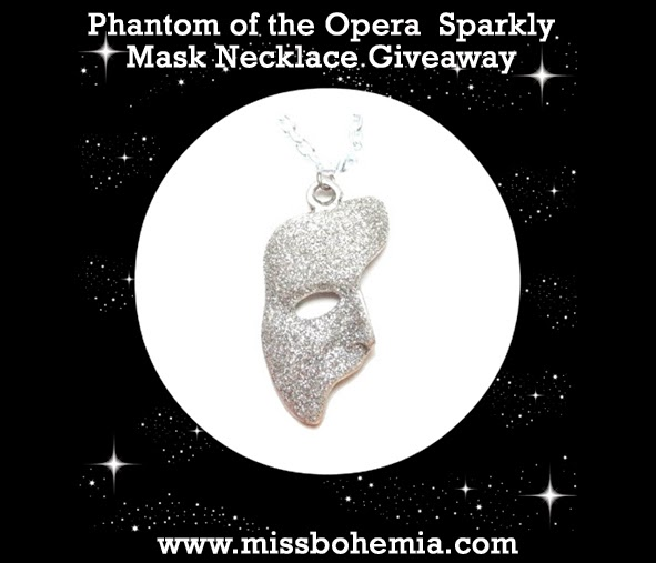 Phantom Of The Opera Sparkly Necklace Giveaway