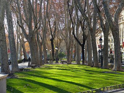 Paseo del Prado – On Our Way to the Prado