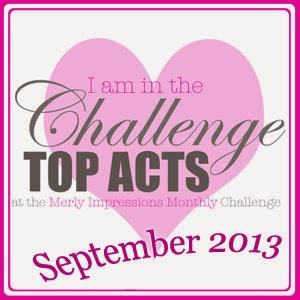 Scrapbooking Challenge Sept 2013