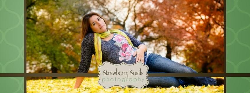 Strawberry Snails Photography