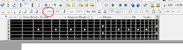 berlatih gitar, menggunakan metronome, metronome,