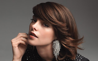Ashley Greene Designer Diamond Earrings