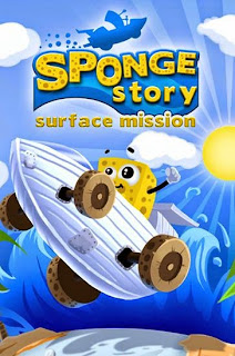 Screenshots of the Sponge story: Surface mission for Android tablet, phone.