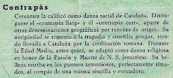 Cervantes y la danza catalana