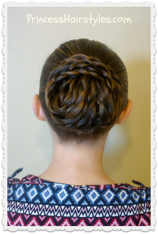 Elegant Textured Updo Easy Hair Tutorial