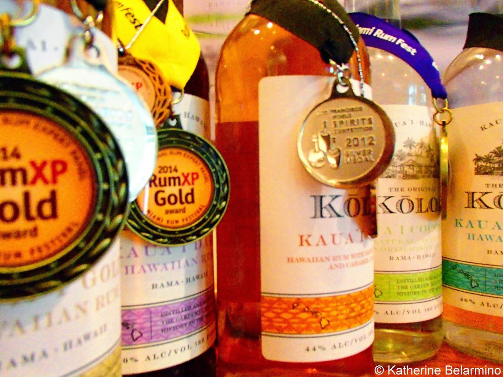 Award Winning Koloa Rum Company Rum Kauai Hawaii
