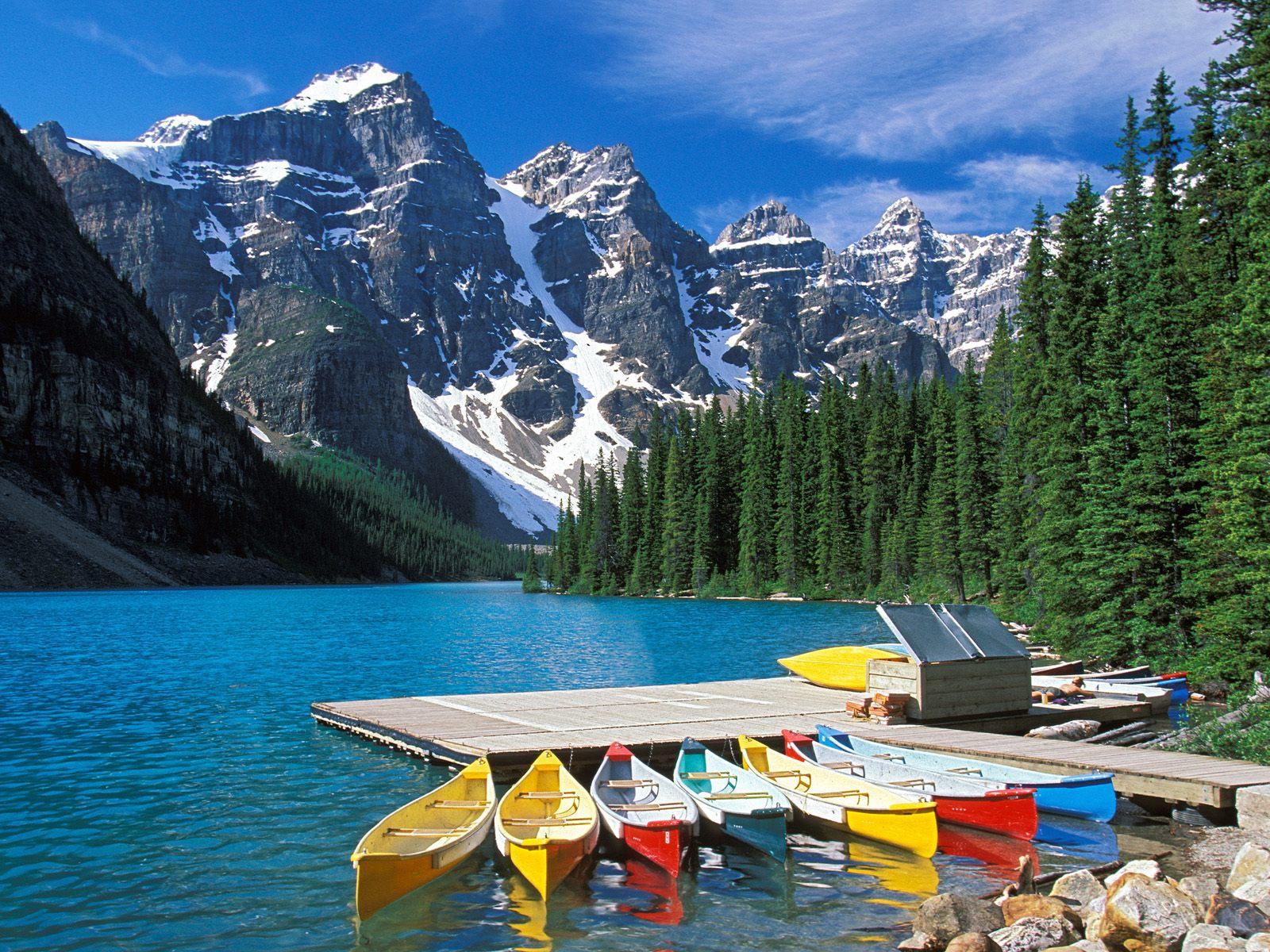 Kanada Moraine_Lake_Banff_National_Park_Canada