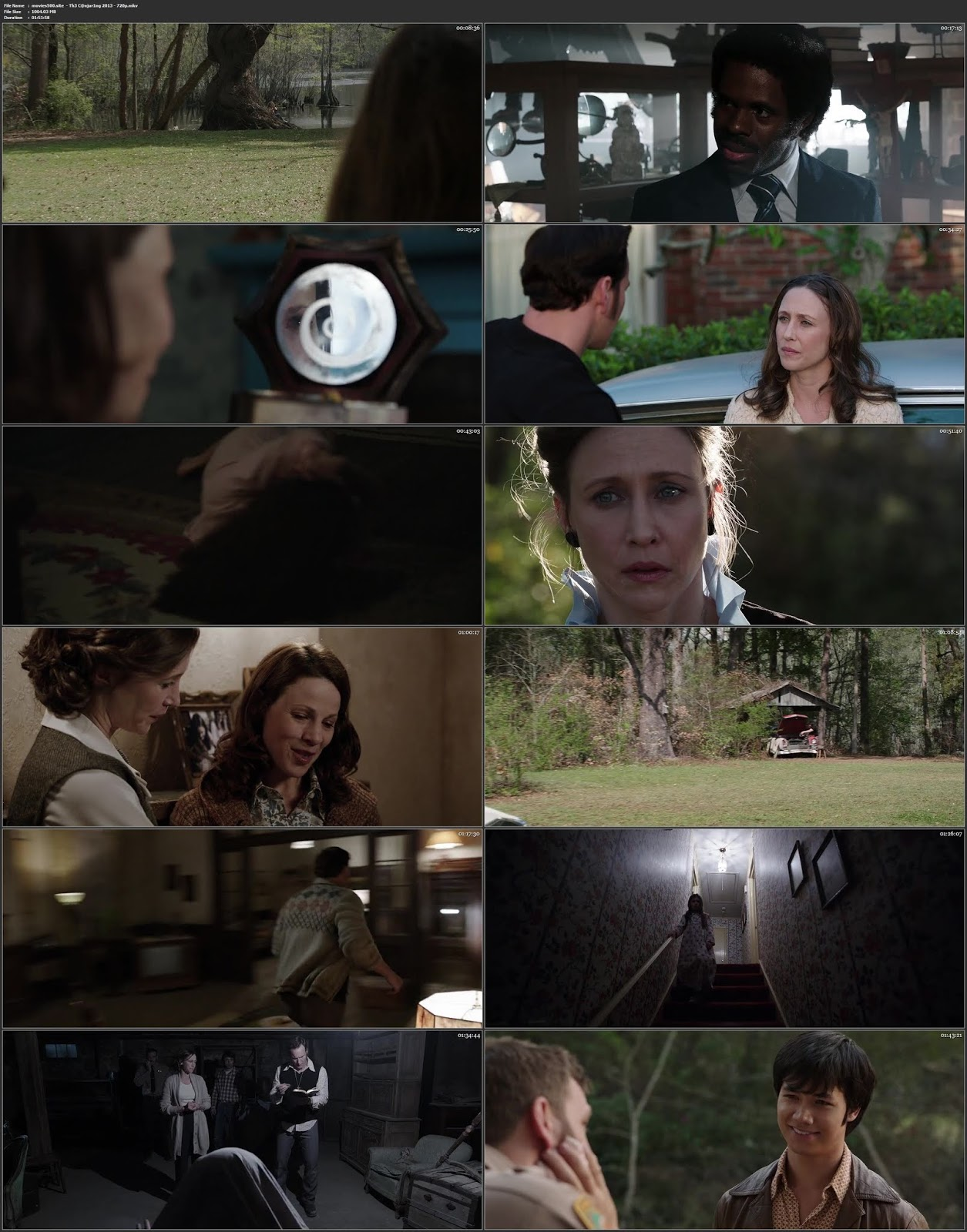 The Conjuring 2013 Hindi Dubbed 300MB BluRay 480p