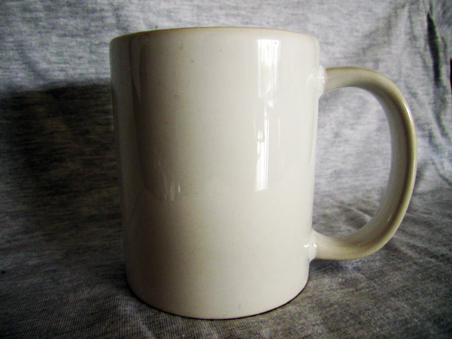 All You Can Print Plain White Ceramic Mugs For Sale