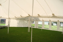 14.5m x 12.8m Pole Marquee