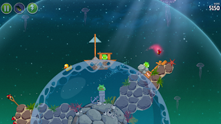 Angry Birds Space v1.5.2 for BlackBerry 10