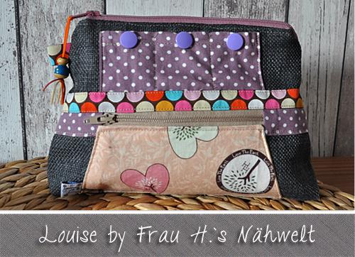 Kosmetiktasche Louise by Frau H.`s Nähwelt