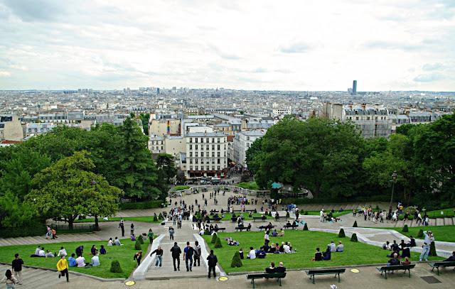Paris, Panorama de Paris depuis la Basilique du Sacré-Coeur, poze frumoase , Paris images