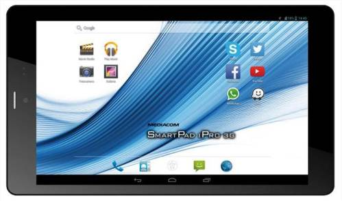 Nuovo tablet intel bay trail Atom a 64bit Mediacom da 8 pollici di diagonale