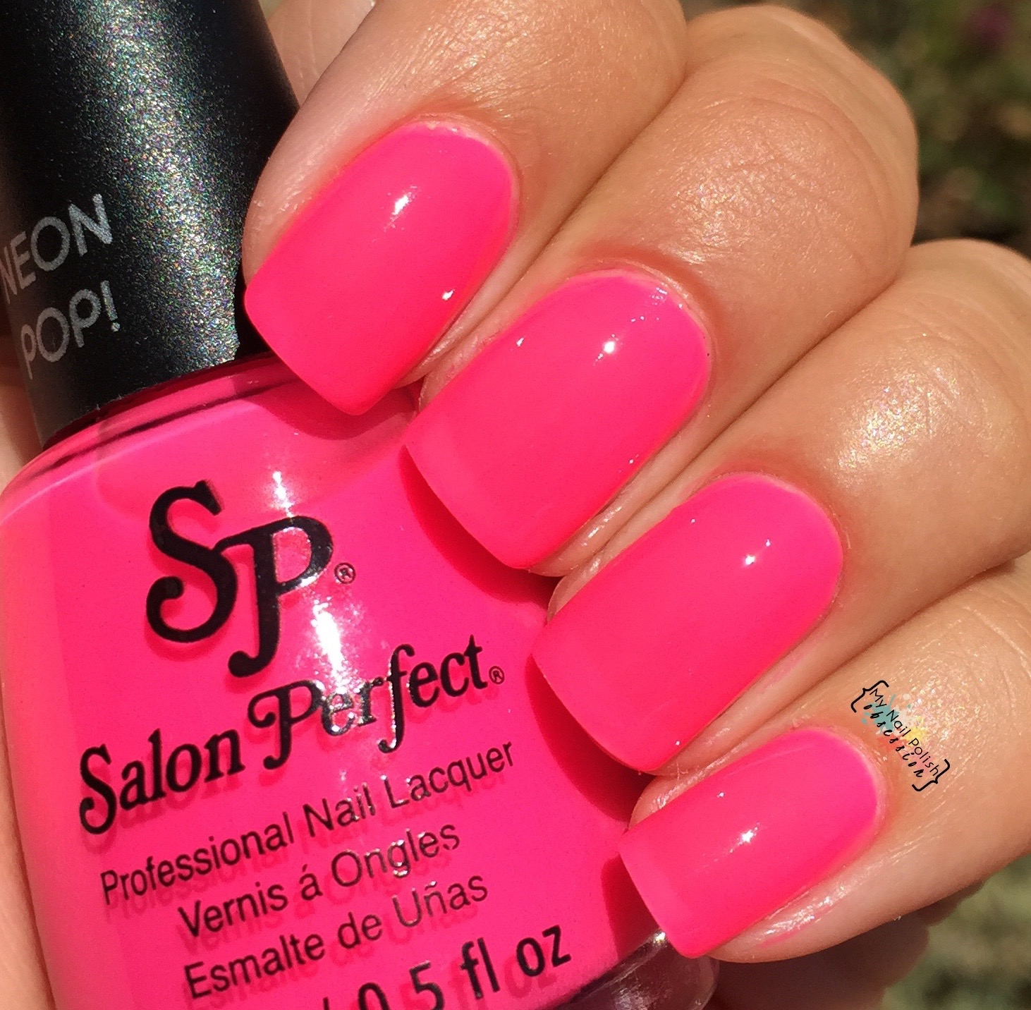 My Nail Polish Obsession: Salon Perfect Neon Pop! (partial