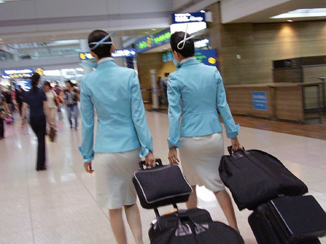 Korean air hostess masturbation