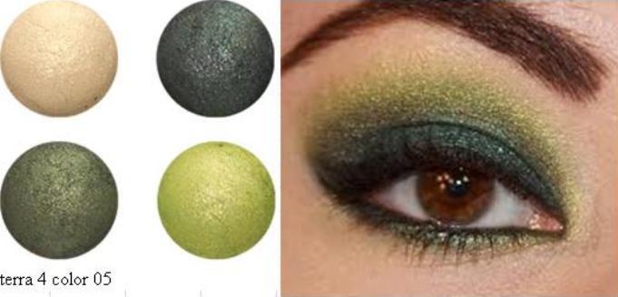 FCC Color Cosmetics Teknik Solekan Terracota 4 Color