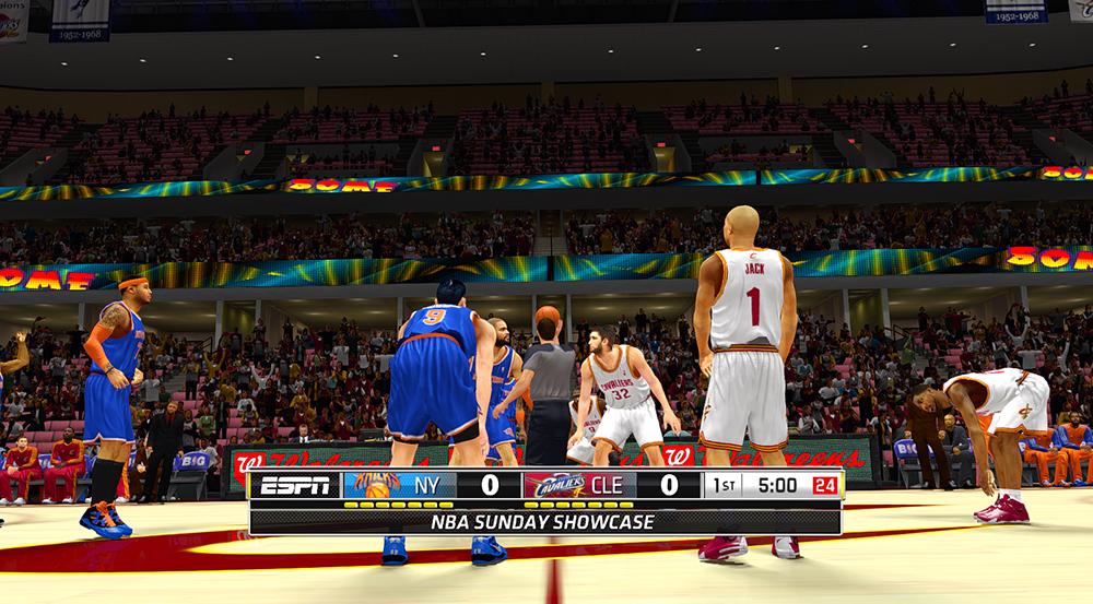 NBA 2K14 Custom ESPN Scoreboard Mods - NBA2K.ORG