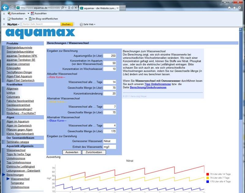 aquamax das weblog zur website endlich wieder verf gbar. Black Bedroom Furniture Sets. Home Design Ideas