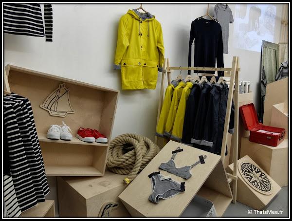 Pop-up Store Petit bateau rue Debelleyme paris Kitsune navire collection 2013