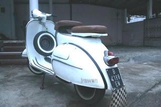 vespa VBB tahun 1962