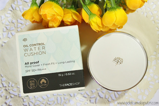 THEFACESHOP Oil Control Water Cushion Review