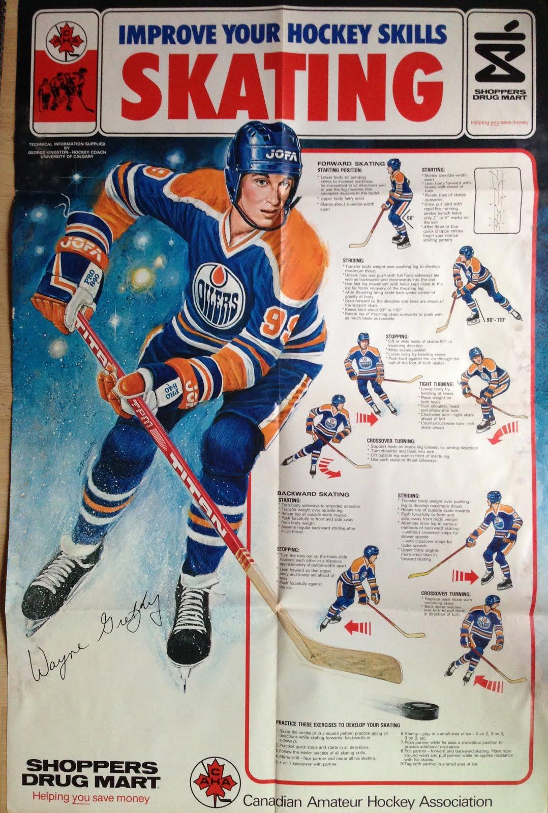 1981 Gretzky Shoppers Drug Mart Poster