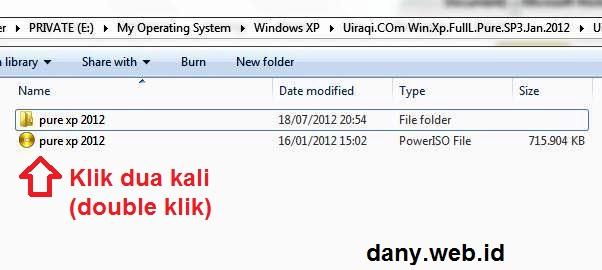 Membuat CD/DVD Windows Bootable dengan PowerISO