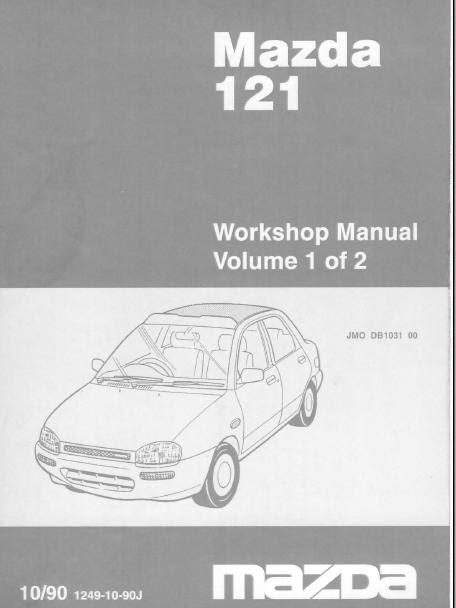 mazda b2600 workshop manual free download pdf