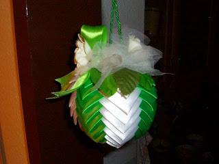 Новогодние украшения своими руками из лент атласных