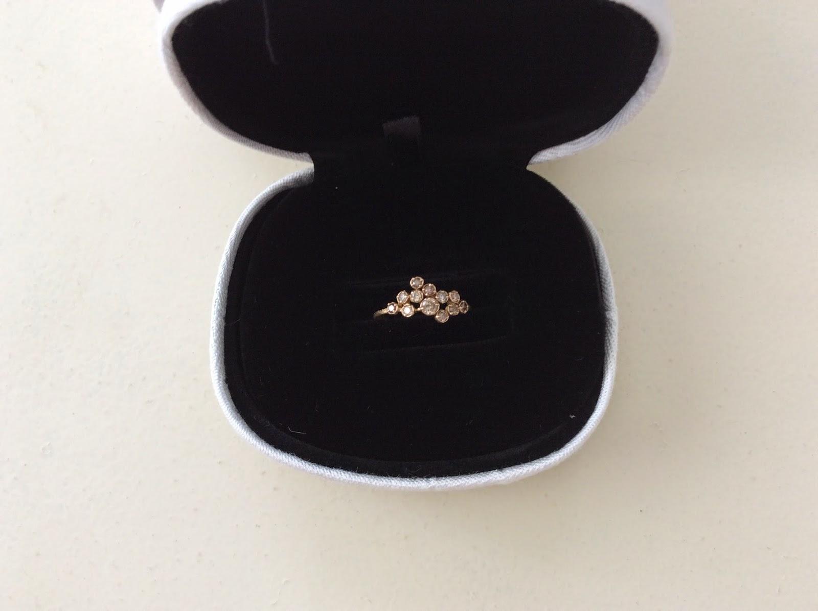 新宿伊勢丹に行くと、たまたま同じ指輪がなんと7割引になっていたので即購入しました。今ではnoguchiのジュエリーを割引で買うことは不可能だと思います。