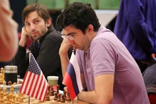 Victoire des Etats-Unis sur la Russie dans la ronde 2, avec les gains de Ray Robson sur Nikita Vitiugov et d'Hikaru Nakamura face à Vladimir Kramnik