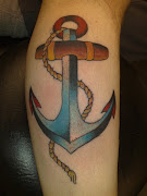 Beautifull Anchor Tattoos Designs Photos