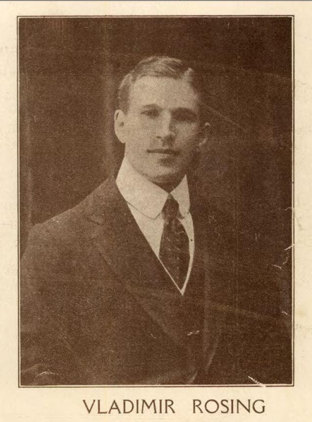 GREAT TENOR VLADIMIR ROSING (1890 1963) CD