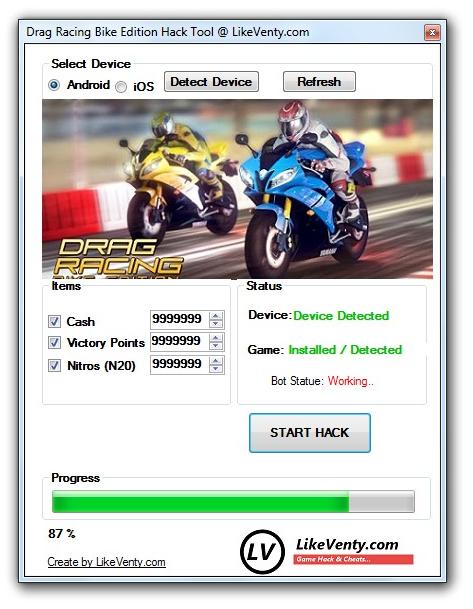 Drag Racing Motorbike Games