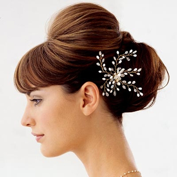 hairstyles with headband : accessories bridal hair accessories bridal hairstyles hairstyles ...