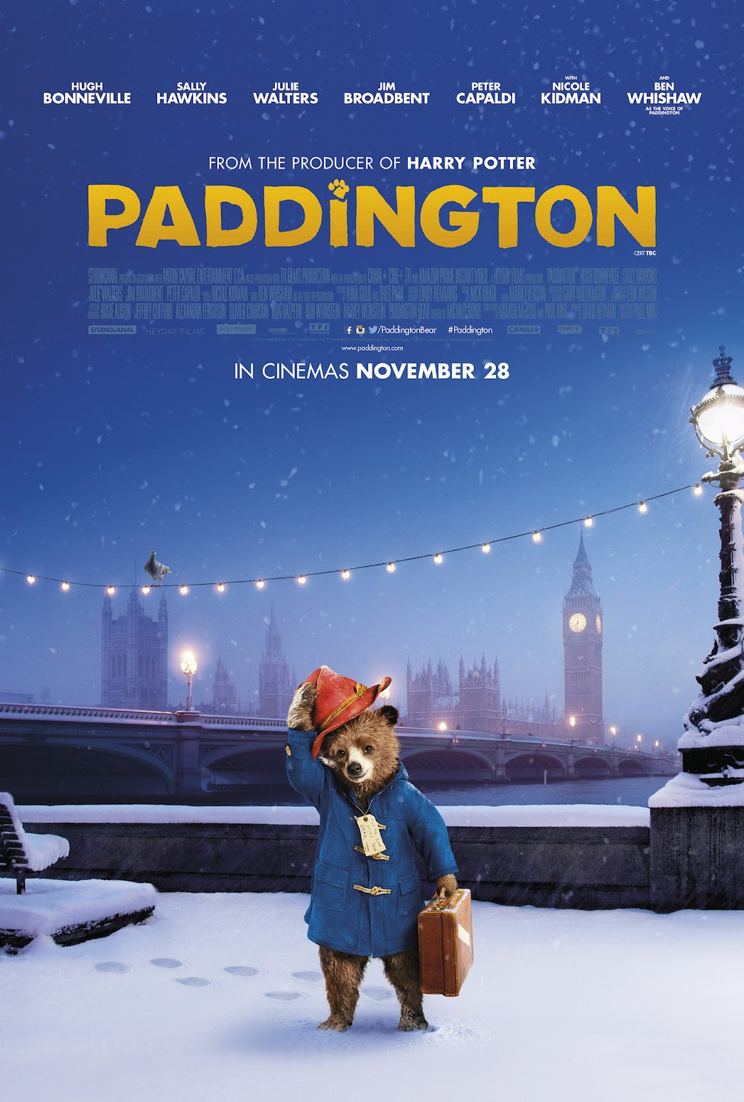 Paddington Film Poster