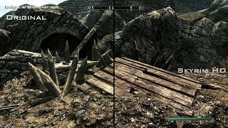 Skyrim HD - High Res Textures Mod