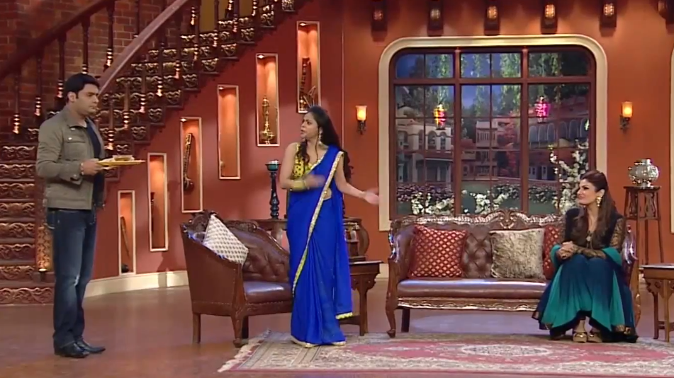 comedy nights with kapil raveena tondon