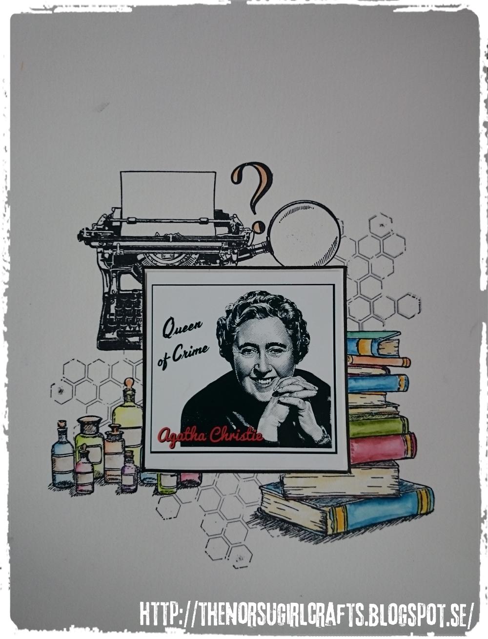 Kollageram runt Agatha Christie