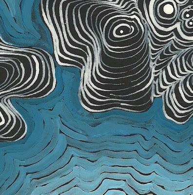 hoelen reynolds, art, painting, emergent, landscape