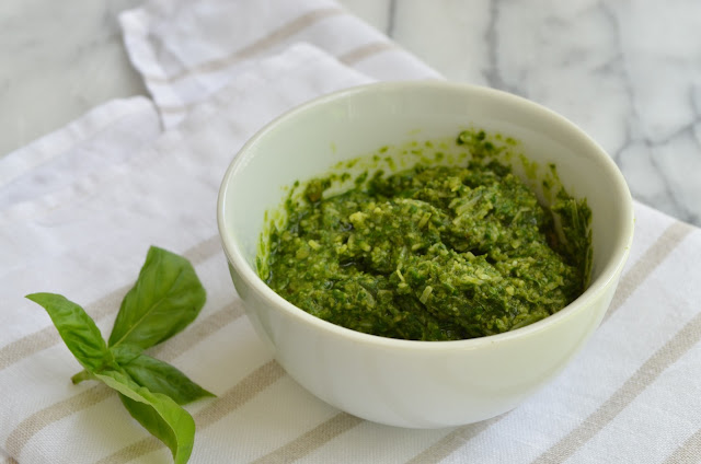 Basil Pesto - Smell of Rosemary.