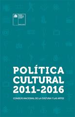 POLÍTICA CULTURAL 2011-2016